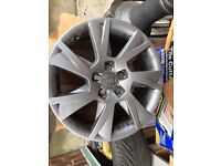 """17"""" Alloy whells - Original AUDI could be used in VW, BMW, etc"""