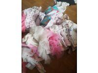Girls newborn amd 0 to 3 bundle of everything