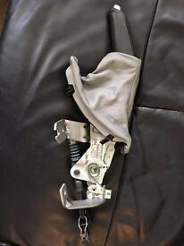 BMW E60 5 Series Handbrake Sleeve with the whole Unit and handle - USED