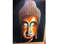 Stunning Thai Buda painting