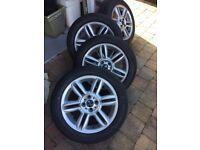 Mini alloy wheels, 16 inch 4x100