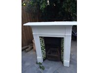 Two Good Quality Edwardian Fireplaces for sale