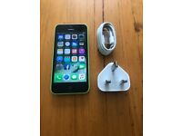 iPhone 5C on EE/Orange/T-Mobile/Virgin & Asda