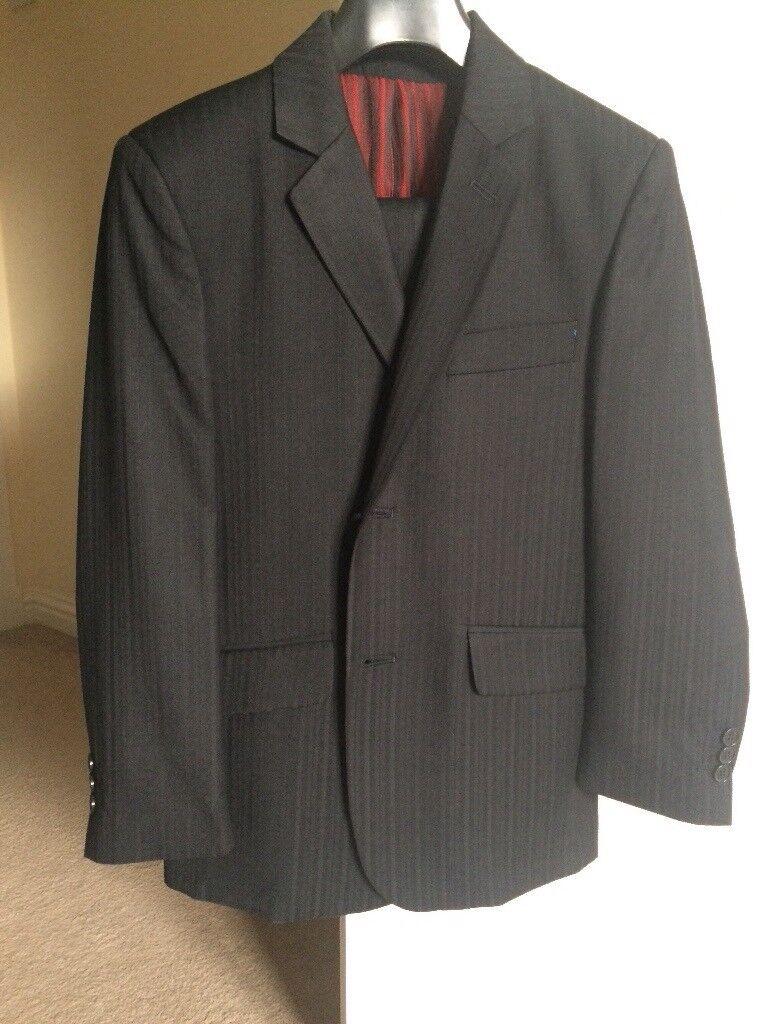 Boys Black Suit Age 10-11