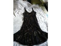 Black evening/party dress