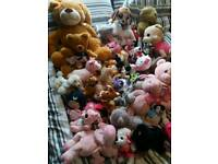 Large teddy soft toy bundle car boot resale
