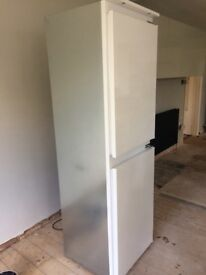 Hotpoint fridge freezer, built in. New condition, 4 month old used while new kitchen fitted.