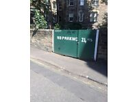 Secure Yard with Parking for Two or Three Cars - City Centre