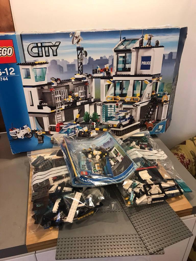 Lego City Police Station Set 7744 In Norwich Norfolk Gumtree