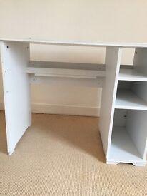 IKEA white office desk
