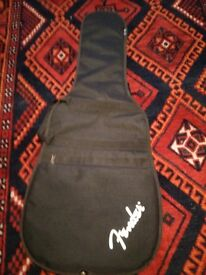 FENDER electric guitar logo gig bag