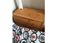Wooden chest of draws - £20