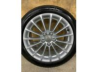 """Genuine 17"""" Audi A3 alloy wheels and tyres Fit Audi A3/Golf/Leon/Skoda"""