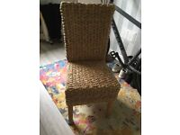 Next Kobo Dining Chairs x 4 cost 456 pounds
