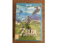 Zelda Breath of The Wild Sealed for Nintendo Wii U