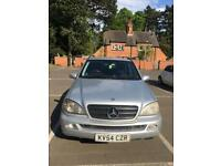 Mercedes ML270 diesel. Great drive.