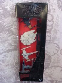 Collectable Star Wars The Black Series Titanium Space Vehicles 4 Pack B3826. New. Good gift idea.