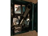 Makita 18 Volt Drill set - DHP482RMJ