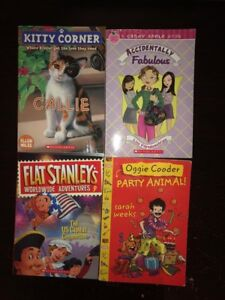 Kids Chapter Books (Candy Apple, Flat Stanley...)