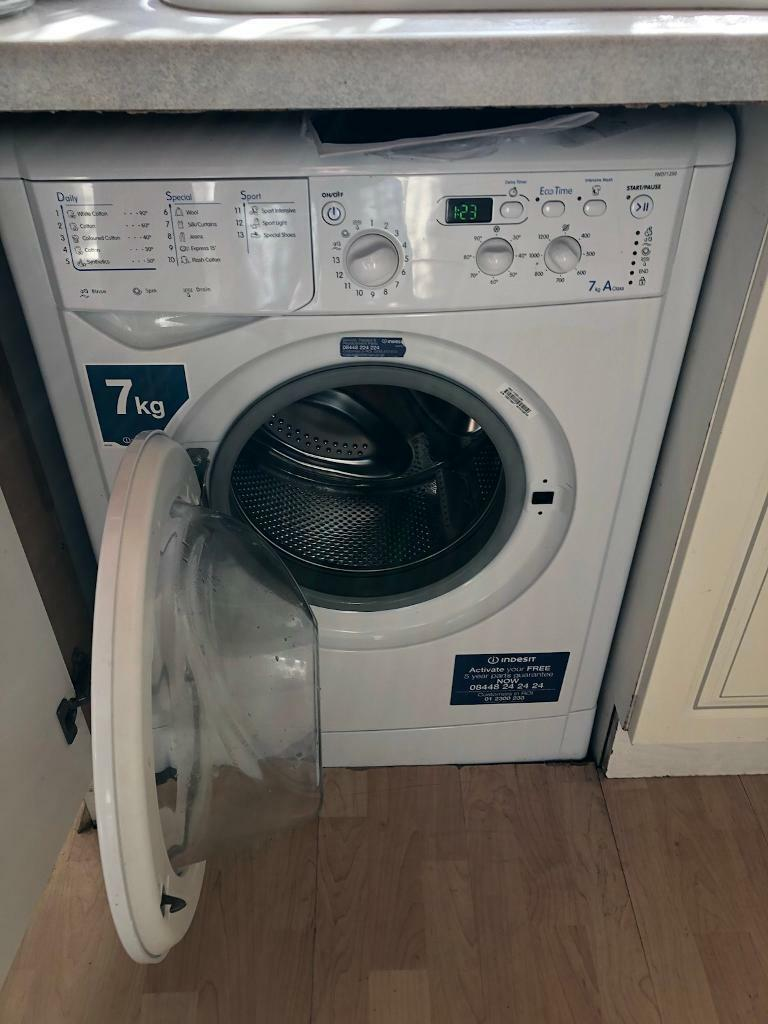 Indesit washer