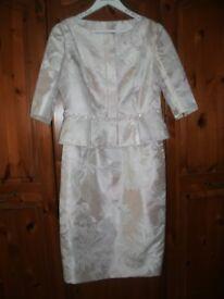 52d9873d6bf Rose Gold Blush Antique Rose Multiway Bridesmaid Maxi Dress Size 10 ...