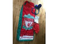 Bed in a bag, Liverpool supporter, inflatable mattress