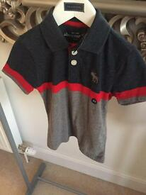 Abercrombie & Fitch polo shirt age 3-4 bnwt