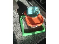 Simple mothercare baby walker