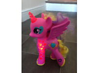 My Little Pony Glowing Hearts Princess Cadance and soft toys