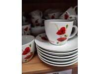 Poppy dinnerware