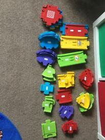 Vtech toot toot garage and track.