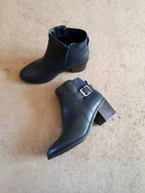 Ladies wide fit boots