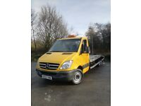 Mercedes Sprinter Recovery Truck LWB Similiar Size to Crafter and Iveco Movano
