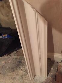 2.5m length of plaster coving