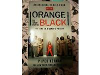Paperback orange is the new black book