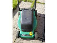 Electric lawnmower £10