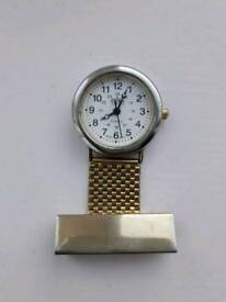 Vintage Aviva Collection nursing fob watch