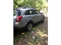 CHEVROLET CAPTIVA 2.0 DIESEL 4 WHEEL DRIVE 7 SEATER 2009 IN THE YEAR