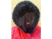 Girls Peppa Pig Coat 2-3 years