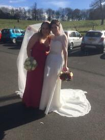 Pink brand new bridesmaid dress