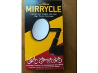 Mirrycle Lightweight, Rugged, Wide View. For Hybrid, Commuter, Recumbent & Road Bikes.