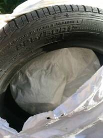 4 new excellence car tyres for sale