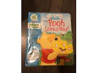 LeapFrog Little Touch LeapPad Book: Disney Pooh Loves You! INTERACTIVE BOOK
