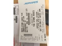2X Stone Roses tickets at Hampden lower tier can arrange to meet in Glasgow or surrounding area