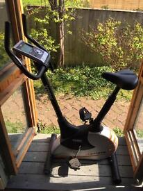 York Aspire Heartrate Calorie track Exercise Bike