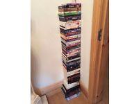 55 DVD'S & 20 BOOKS