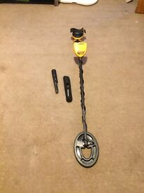 metal detector and pin pointer
