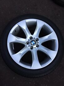 BMW X5, 20 Inch Alloy Wheels, Including very good used Tyres
