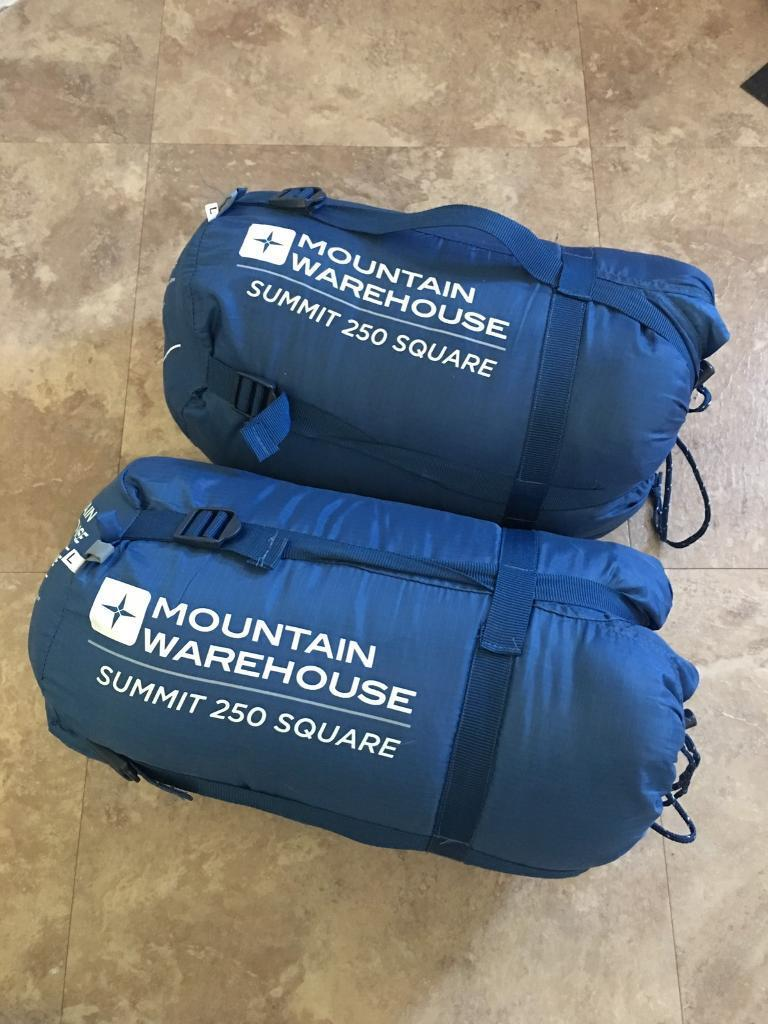 sports shoes dd224 14f2f 2 x Mountain Warehouse Summit 250 Square Sleeping Bags Large | in Lancing,  West Sussex | Gumtree