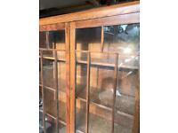 Oak bookcase 1930s